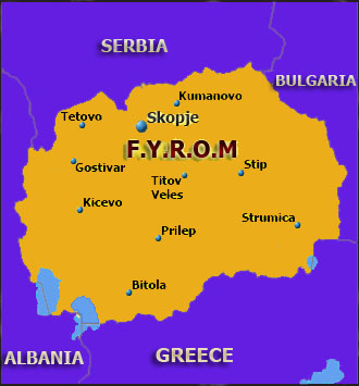 FYROM : Slavic hooligans threaten to kill Albanians