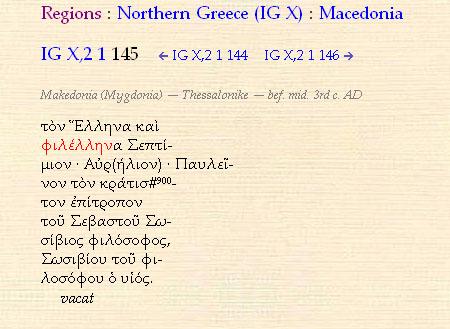 inscription philhellene Ancient  inscription sheds more light to the usage of the term Philhellene