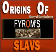 Origins of FYROM's Slavs