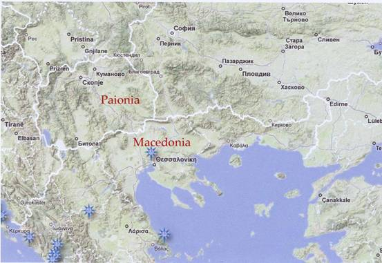 ancient macedonia map Archaeology Magazine Letter to the Editor by Professor Stephen G. Miller