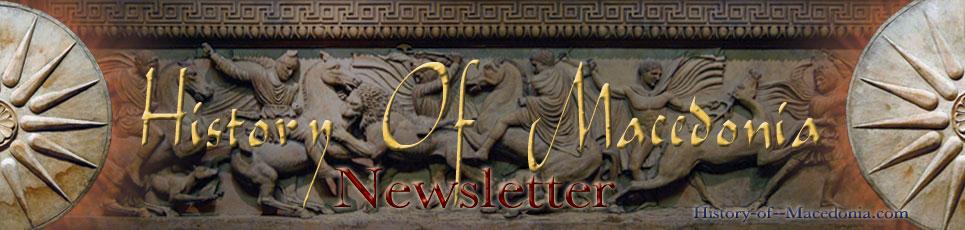 History of Macedonia Newsletter
