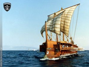 300px Trireme Olympias Greek navy in Alexanders campaign