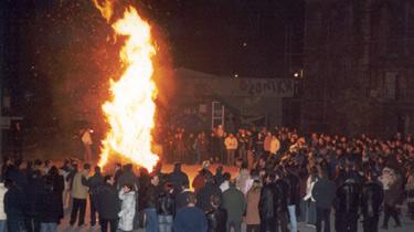 kladaries Κόλιαντα και Κλαδαριές: Χριστουγεννιάτικα έθιμα στη Μακεδονία