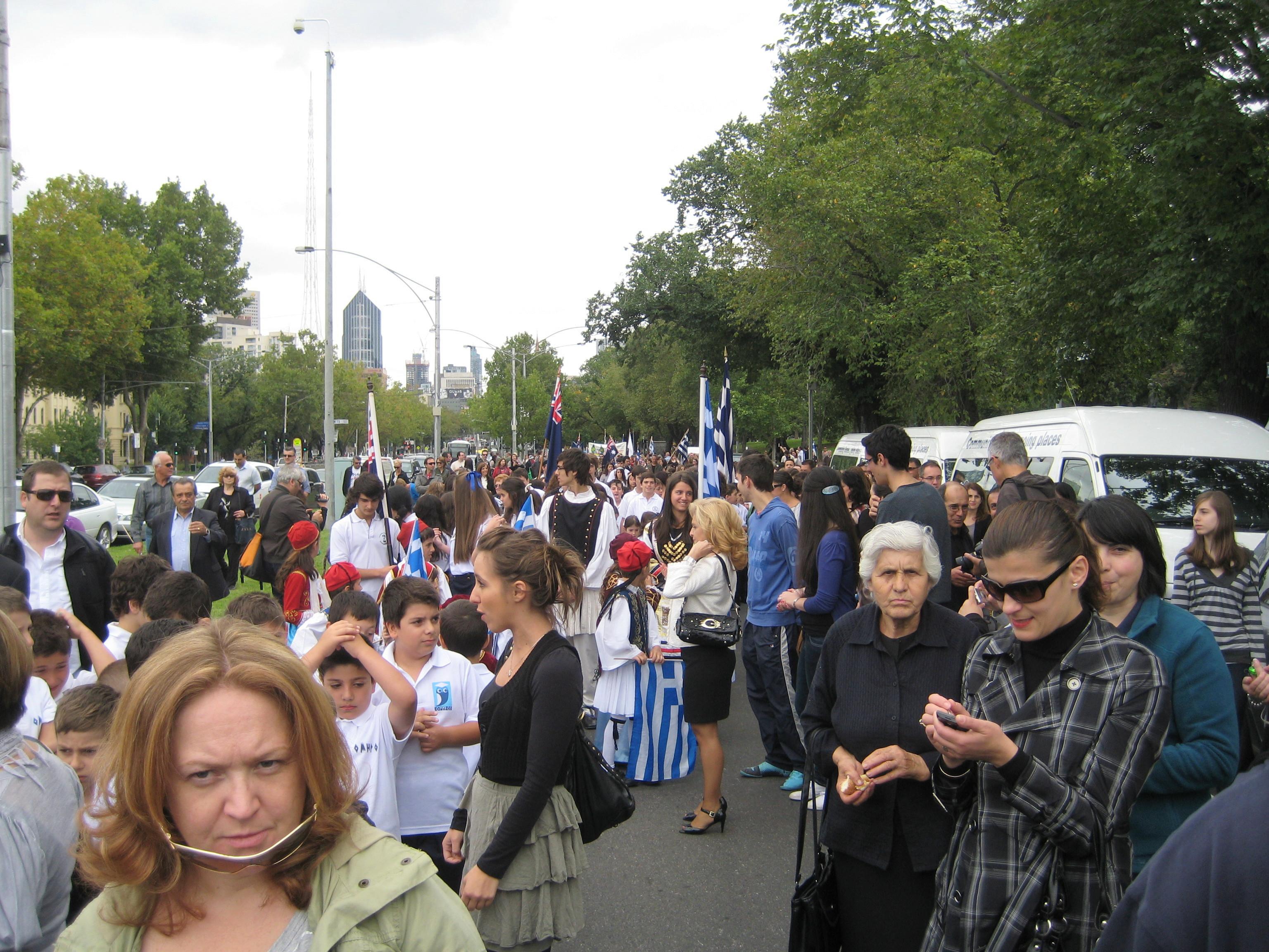 IMG 1427 Οι Εορτασμοί στην Μελβούρνη για την επέτειο της 25ης Μαρτίου