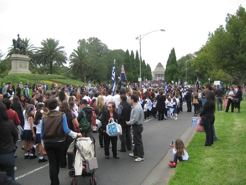 IMG 1431 Οι Εορτασμοί στην Μελβούρνη για την επέτειο της 25ης Μαρτίου