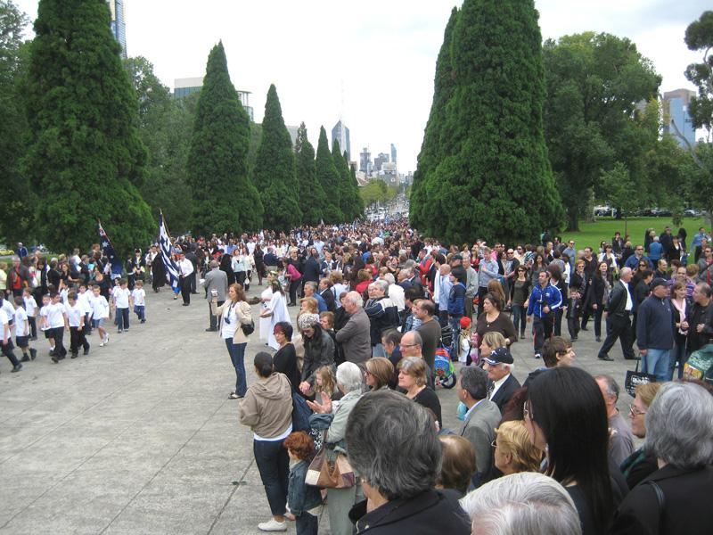 IMG 1444 Οι Εορτασμοί στην Μελβούρνη για την επέτειο της 25ης Μαρτίου