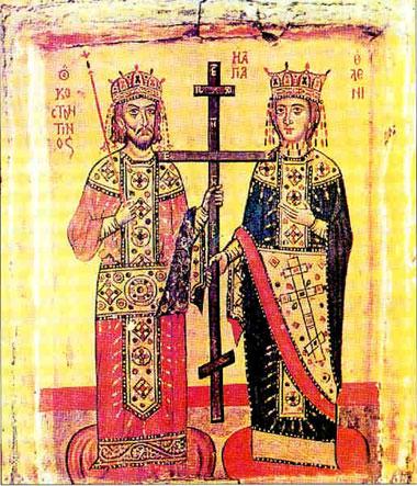 constantine heleni Α Οικουμενική Σύνοδος της Νίκαιας (325 μ.Χ.)