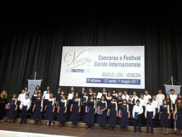 choirprix1 Διπλή Διάκριση από Μακεδονική Χορωδία στην Ιταλία