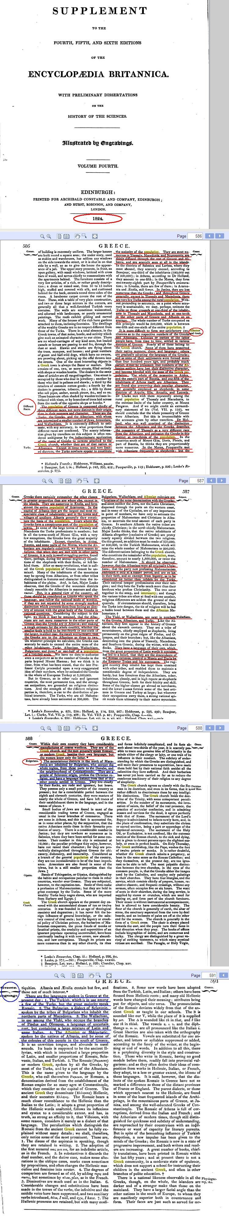 encyclopediabritanica18 Encyclopaedia Britannica 1824   The People of Greece