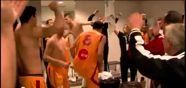 fyrom national basketball team FYROM National Basketball Team players Chanting Fascist and Expansionist Song