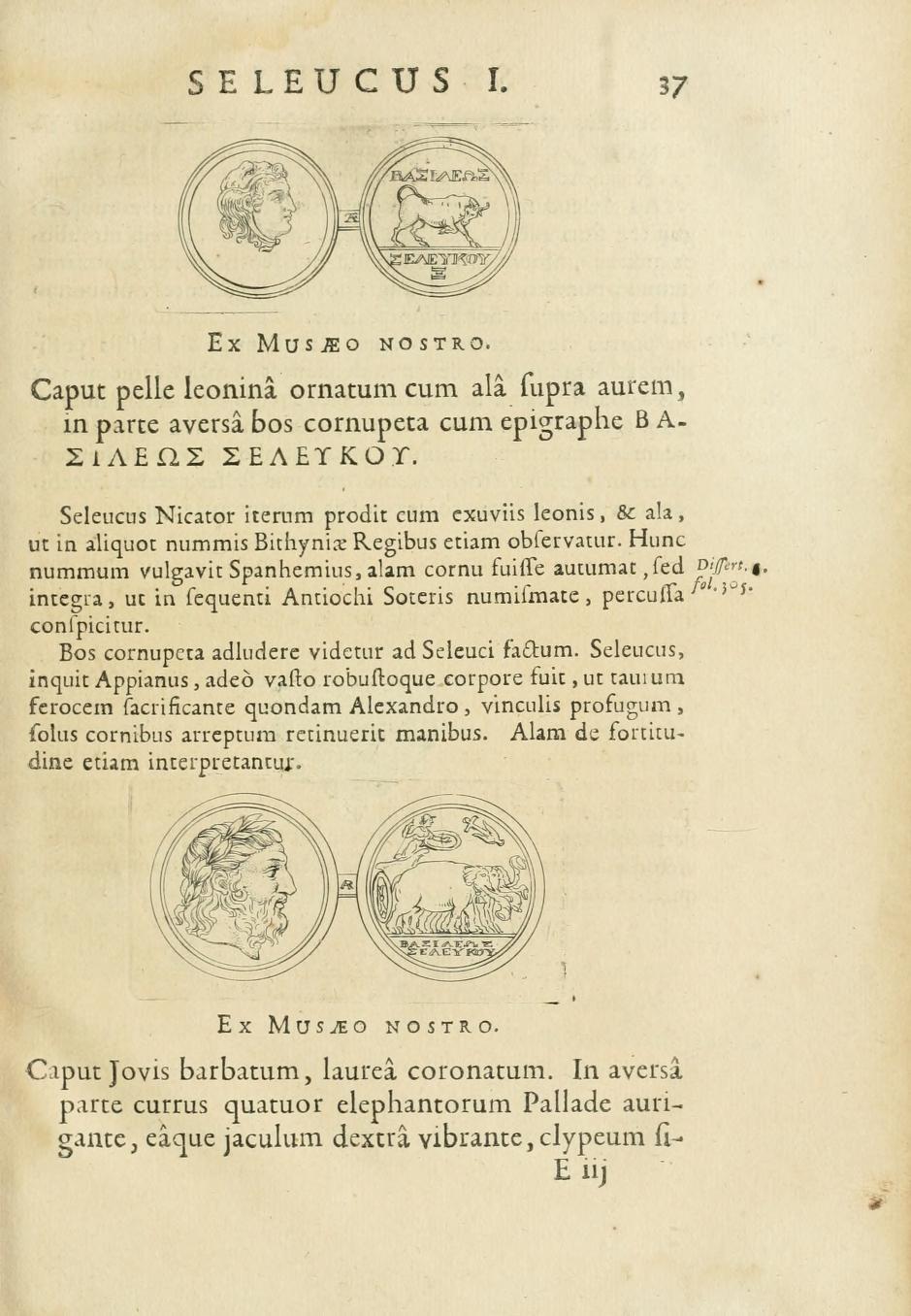 seleuko 11 1681 SELEUCIDARUM IMPERIUM, sive HISTORIA REGUM SYRIAE