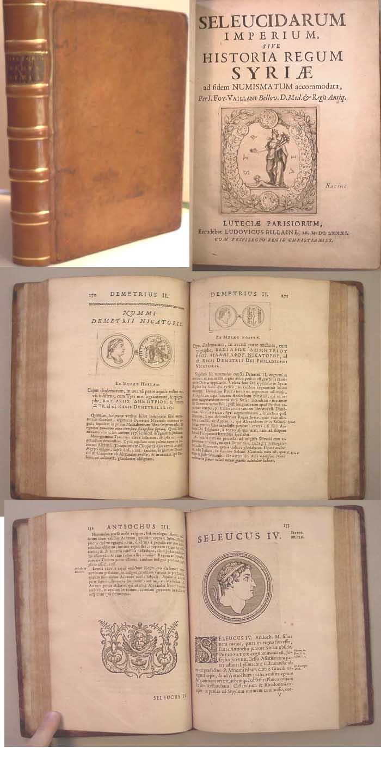 syria 1681 SELEUCIDARUM IMPERIUM, sive HISTORIA REGUM SYRIAE