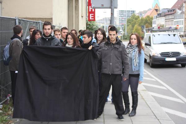 IMG 8920 Διαμαρτυρία Μαθητών στο Προξενείο της Στουτγάρδης