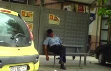 FYROM policeman in Action, sort of…
