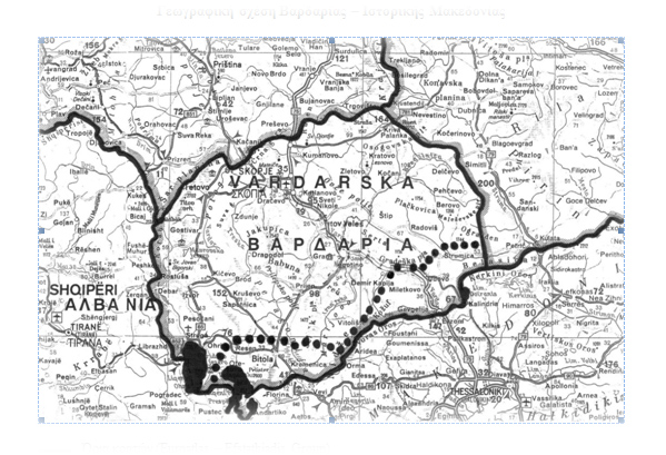 vardaska map Φιλoσκοπιανοί κατά ημερίδας στο Ν.Πετρίτσι με θέμα το Σκοπιανο