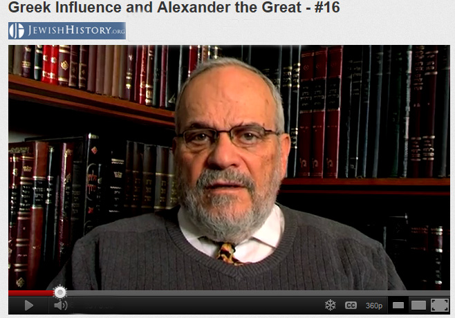 rabbi Macedonia History   Famous Jewish Historian :  Alexander was a Great Greek Leader
