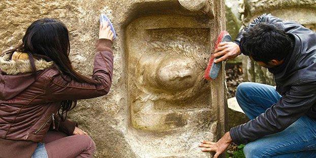 ANTIOXOS Στο φως προτομή του βασιλιά της Στρατονίκειας, στην Τουρκία