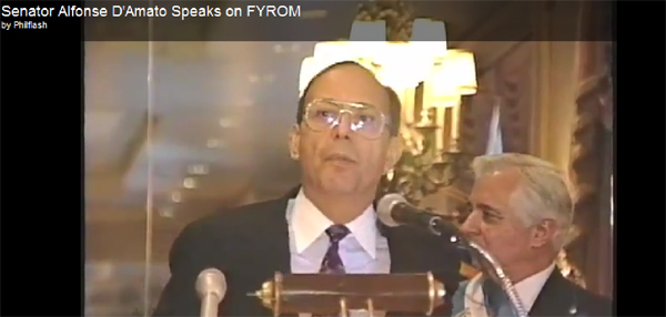 damato Speech by Senator Alfonse DAmato about Macedonia (1992)