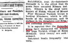 "Ilinden – The Bulgarian Uprising in Macedonia and the formation of ""Krushevo Republic"" that lasted barely… 10 days!!!"