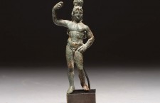 Rare ancient Greek bronze statue – Alexander Dioskouros