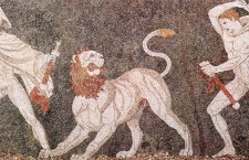 800px Lion hunt mosaic from Pella 225x145 Ancient Macedonia   The Academic Truth