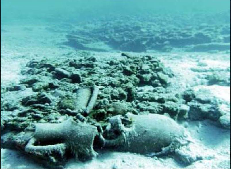 N  Ο βυθός έκρυβε έξι ναυάγια