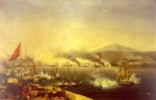 Naval Battle of Navarino by Garneray 225x145 1842   Population Statistics of Ottoman Empire in Europe