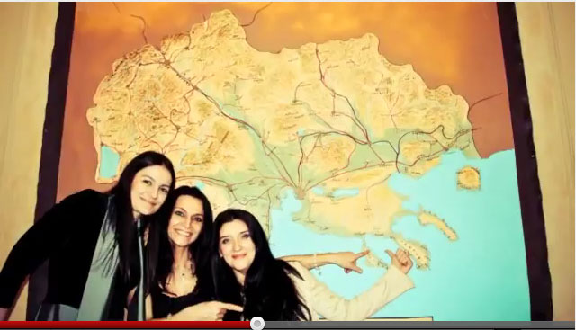 alitrotikos xartis delchev night Σκοπιανοί Διπλωμάτες και Αλυτρωτικοί Χάρτες της Μακεδονίας σε Εκδήλωση Σκοπιανών στον Καναδά