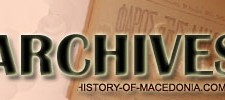 History of Macedonia Archives