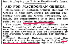 Foreign newspapers of 19th/20th c. about Macedonia