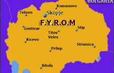 Burned flag in football match angers FYROM's Slavs