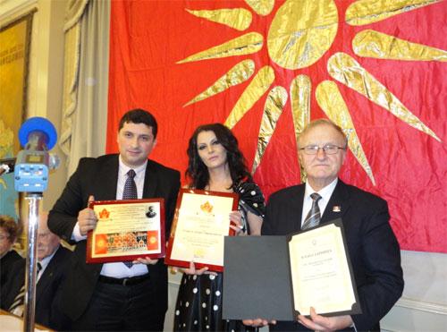 genikos proksenos Σκοπιανοί Διπλωμάτες και Αλυτρωτικοί Χάρτες της Μακεδονίας σε Εκδήλωση Σκοπιανών στον Καναδά