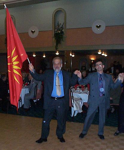 gotse2002 slobodan casule Σκοπιανοί Διπλωμάτες και Αλυτρωτικοί Χάρτες της Μακεδονίας σε Εκδήλωση Σκοπιανών στον Καναδά