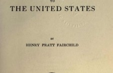 Greek immigration in United States by Henry Prat Fairchild