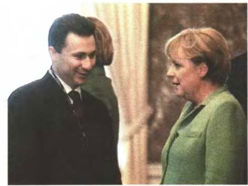 gruevski merkel Merkel to Gruevski : Resolve the Name Issue otherwise no opening of negotiations with EU and NATO