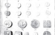 Greco-Bactrian coins in the Lahori Museum - 1908