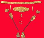 Χρυσοφόροι Μακεδόνες από το Αρχοντικό Πέλλας