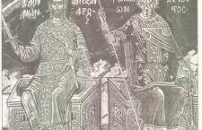"""Τοιχογραφία του 1568: """"Αλέξανδρος, βασιλεύς των Ελλήνων"""""""