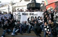 Προκλητική συμπεριφορά Σκοπιανών εναντίον φιλάθλων του ΠΑΟΚ