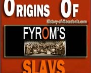 Macedonian History : The Bulgarian Origins of FYROM's Slavs
