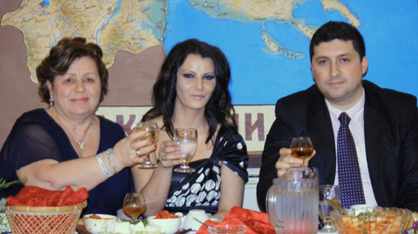 proksenos alytrotikos xartis2 Σκοπιανοί Διπλωμάτες και Αλυτρωτικοί Χάρτες της Μακεδονίας σε Εκδήλωση Σκοπιανών στον Καναδά