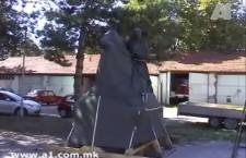 Οι Σκοπιανοί σηκώνουν άγαλμα του Φιλίππου Β' στο Μοναστήρι