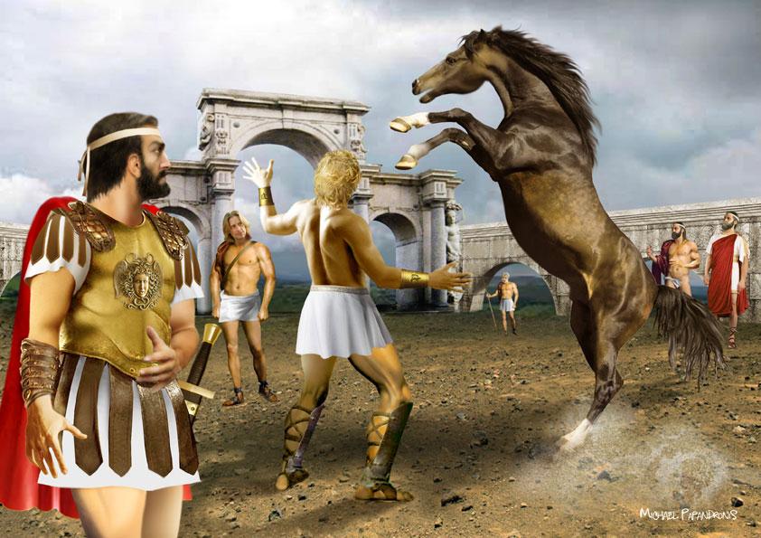 voukefalas  Ο Bουκεφάλας του Μεγάλου Αλεξάνδρου