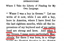 """When i was in Greece"" - Confessions of a Macedonian, 1913"
