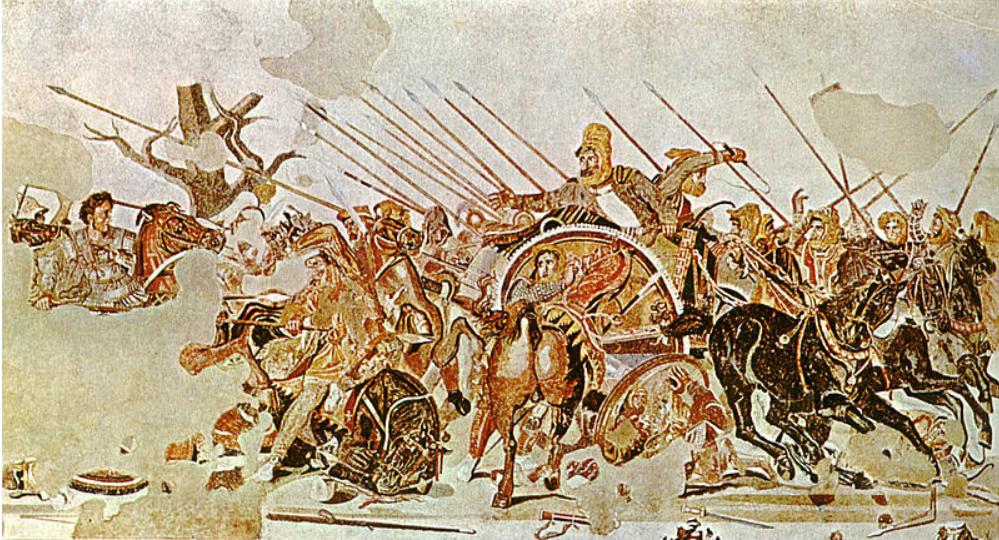 ALE ΣΚΑΙ ΜΕΓΑΣ ΑΛΕΞΑΝΔΡΟΣ Η μάχη της Ισσού Έλληνες ενατίον Περσών(Ελληνική αφήγηση)