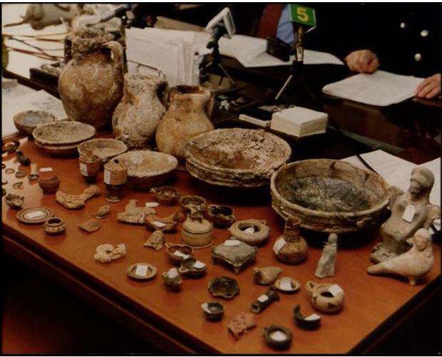 Εξαρθρώθηκε μεγάλο κύκλωμα αρχαιοκαπήλων