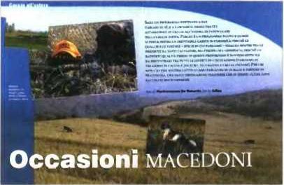italian magazine hunting Σε ποιά Μακεδονία;
