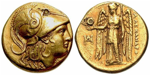 AL The coinage of Alexander The Great