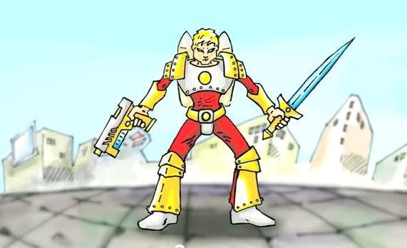 makedon super hero Στα όρια της Παράνοιας οι Σκοπιανοί   Δημιούργησαν τον Σούπερ Ήρωα... Makedon !!!