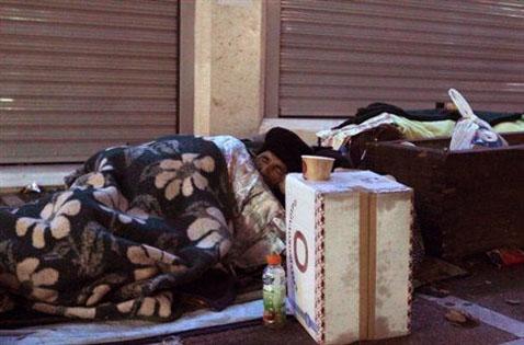 Homeless Ελληνικά Μ.Μ.Ε. και ο Μύθος για το 68% του πληθυσμού που ζει κάτω από το όριο της φτώχειας